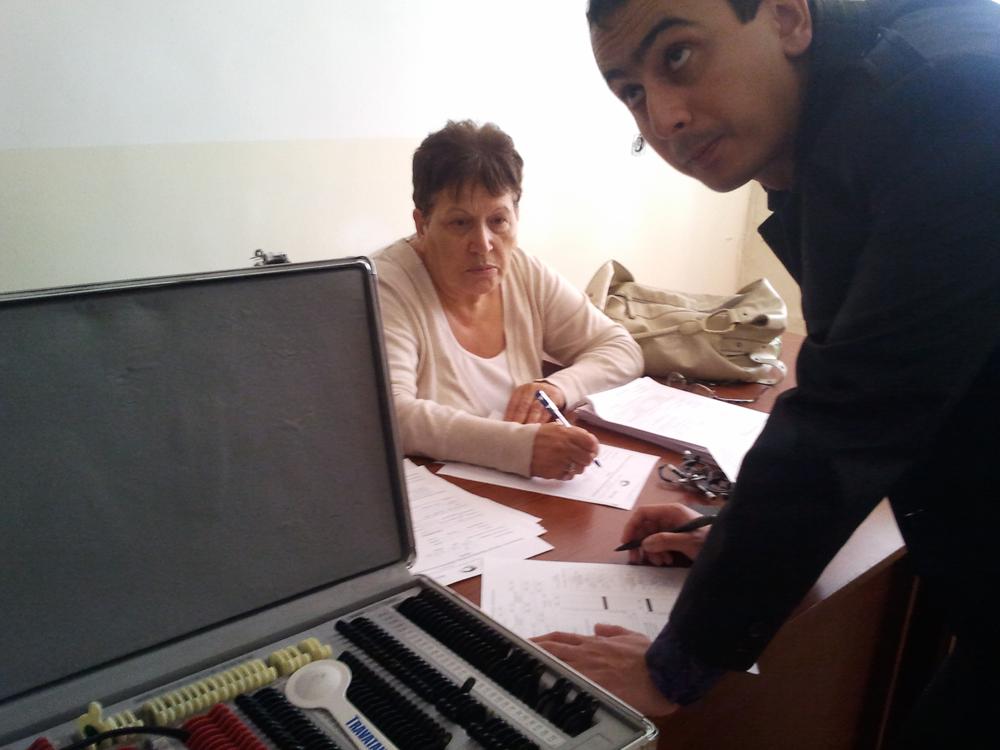 Обследование глаз в Арктикской и Кошевской тюрьмах (Армения)